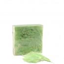 Marabu feathers 70 gr. L6 / 3cm, light green